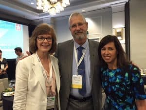 Winthrop EDA Director Mark Erickson (center) with Jodie Miller, (left) President of NATOA & Executive Director, Northern Dakota County Minnesota Cable Communications Commission and Town Square TV and FCC Commissioner Jessica Rosenworcel (right) at the National Association of Telecommunications Officers and Advisors annual conference last week in Austin, TX.