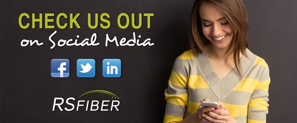 RS Fiber Social Media